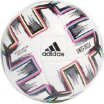 adidas Uniforia Competition Trainingsball EM 2020 (Größe: 5, white/black/signal green/bright cyan)