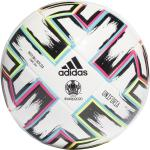 adidas Uniforia Futsal Ball EM 2020/2021 (Größe: FUTS, white/black/signal green/bright cyan)