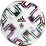 adidas Uniforia League Jugendfußball 350 (Größe: 5, white/black/signal green/bright cyan)