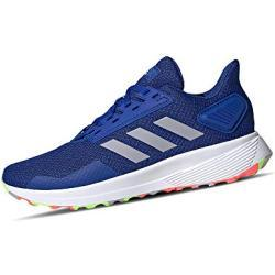 adidas Unisex-Child Duramo 9 Running Shoe, Team Royal Blue/Glory Grey/Signal Green,39 1/3 EU