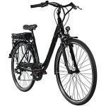 Adore Pedelec E-Bike Cityfahrrad 28'' Adore Versailles schwarz-grün E-Bikes, Rahmenhöhe: