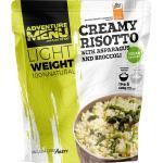 Adventure Menu Creme-Risotto mit Spargel und Brokkoli
