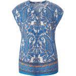 Ärmelloses Blusen-Shirt Peter Hahn blau