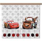 AG Design Disney Cars Gardine/Vorhang, 2 Teile, Stoff, Multicolor, 180 x 160 cm