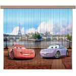 AG Design Disney Cars Kinderzimmer Gardine/Vorhang, 2 Teile, Stoff, Multicolor, 180 x 160 cm