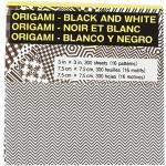 Aitoh Origami Papier 3Zoll x 3Zoll 300Sheets-Black und weiß