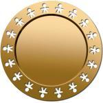Alessi Platte Girotondo KKGT GD gold