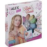 Alex 1735-5 Boho Armbänder, mehrfarbig