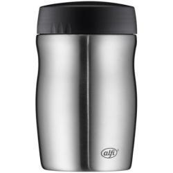 alfi foodMug - Thermobehälter für Essen, Edelstahl mattiert 500ml, Speisegefäß für Essen, Suppen oder Müsli unterwegs, auslaufsicher, BPA-Frei, 6 Stunden heiß, 12 Stunden kalt - 0637.205.050