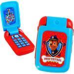 alles-meine.de GmbH Handy mit Sound - Paw Patrol - Hunde - für Kinder / Auto - elektrisches Kinderhandy - Klapphandy Telefon - Lernhandy / Kindertelefon zum Aufklappen - Spie..