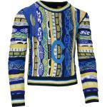 Allover Mädchen Pullover in trendigen Farben, Navy-Petrol
