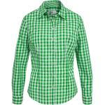 Almsach Trachtenbluse Damen Grün
