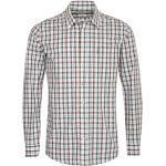 Almsach Trachtenhemd Herren Braun-Grün
