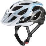 Alpina Fahrradhelm Thunder 2.0 (Größe: 52-57 cm, 19 white/titanium/lightblue)