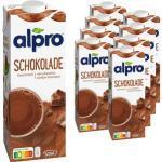 alpro Sojadrink SOYA Choco, je 1 Liter, 8 Stück