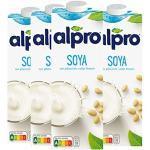 Alpro Soya Drink Original mit Calcium, 100 % pflanzlich - 1L - 4x