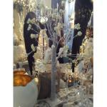 AM-Design Deko-Baum weiß Früchte 180cm (75598) NEU