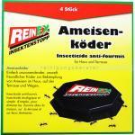 Ameisenköder Reinex Insektenstopp 4er-Pack umweltfreundlicher Köder für die Ameisen Bekämpfung