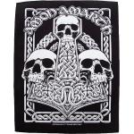Amon Amarth - Three Skulls - Aufnäher -