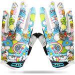 Amrta Fahrradhandschuhe Kinder MTB Jungen Mädchen 2-11 Jahre Roller Skate Sport Handschuhe Gel Rutschfest (Blau, XL)
