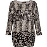 AMY VERMONT Pullover schwarz::beige