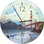 Blaue Maritime Uhren