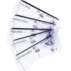 Anastasia Beverly Hills Accessoires Pinsel & Accessoires Augenbrauenschablone