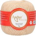 Anchor Freccia Stärke 16 4771016-00387 beige Häkelgarn, 100 % Baumwolle