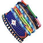 ANDANTE Hippie Fashion Armband Barbados im Ethno-Design One Size mit Edelstahl Magnetverschluss (Modell 4025) - Kollektion 2019 - Sale