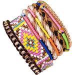 ANDANTE Hippie Fashion Armband Saint Tropez im Ethno-Design One Size mit Edelstahl Magnetverschluss (Modell 4012) - Kollektion 2019 - Sale