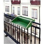 andas Balkonhängetisch Rayling grün Gartentische Gartenmöbel Gartendeko
