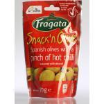 Angel Camacho Alimentation - Fragata Snack' n Olive - Grüne Oliven mit Chili und Thymian