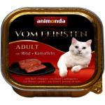 Animonda Cat Vom Feinsten Adult mit Rind und Kartoffeln 100g (Rabatt für Stammkunden 3%)