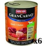 Animonda Dog GranCarno Adult Rind und Huhn 6x800g (Rabatt für Stammkunden 3%)
