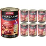 Animonda Dog GranCarno Senior Rind und Putenherzen 6x400 g (Rabatt für Stammkunden 3%)