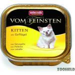 Animonda Kitten Geflügel   32x 100g Kätzchenfutter nass