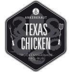 Ankerkraut Texas Chicken Rub im Standbodenbeutel