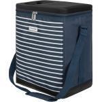 anndora Einkaufskorb » Kühltasche 32 Liter - Kühleinsatz - reisenthel carrycruiser kompatibel - Farbwahl«, blau-weiss gestreift