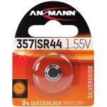 ANSMANN 1516-0011 Knopfzelle 357/SR44 1,55V Silberoxid