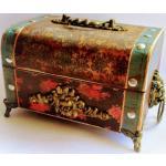 Antike Schatztruhe Schmucktruhe Piratenbox Geburtstagsgeschenk Für Sie