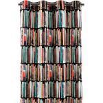 Apelt Ösenschal Libri Bunt/Schwarz Modern 135x244 cm (BxH) 100% Baumwolle