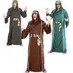 Arabischer Scheich Kostüm in 3 Farben - schwarz