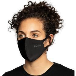 Schwarze Ariat Stoffmasken wiederverwendbar