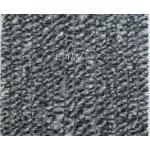 Arisol Chenille Flauschvorhang, 56x205 cm, grau-weiß-schwarz, ideal für Reisemobile