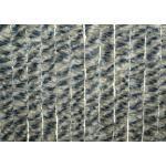 Arisol Chenille Flauschvorhang, 70x205 cm, grau-blau-schwarz, ideal für Caravans
