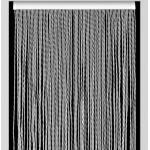 Weiße Moderne Arisol Türvorhänge