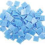 Armena 204130a18 Mosaiksteine zum Basteln Blau 260g 2x2 cm circa 86 Stück