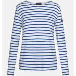 Armor Lux Lesconil weiß-sternblau Damen Streifenshirt