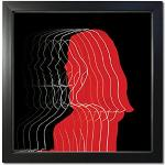 Schwarze Quadratische Bilderrahmen 10x10