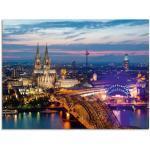 Blaue Moderne Artland Panoramabilder poliert